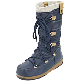 Moon Boot W.E. Monaco Felt WP Women Denim Blue